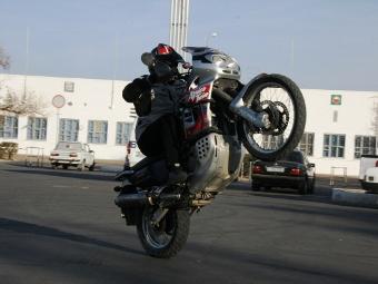 Московские спид-камеры начнут штрафовать мотоциклистов