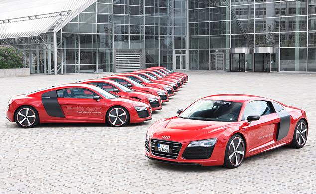 Мини-тест: электрический суперкар Audi R8 e-tron. Фото 22