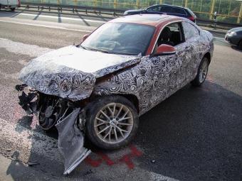 """Из-за аварии прототипа """"двойки"""" BMW в Германии перекрыли автобан"""