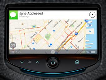 Apple научил iOS 7 интеграции с автомобилями