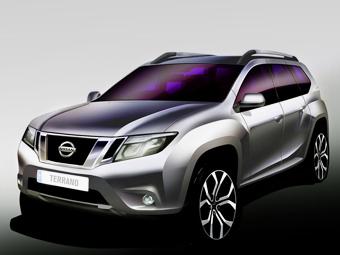 Nissan показал первое изображение нового Terrano