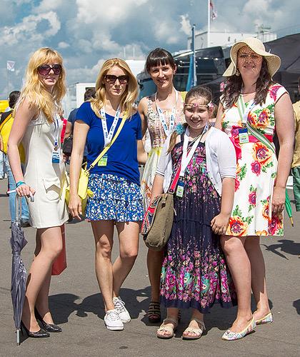 «Мотор» пообщался со зрителями российской гонки WTCC. Фото 17