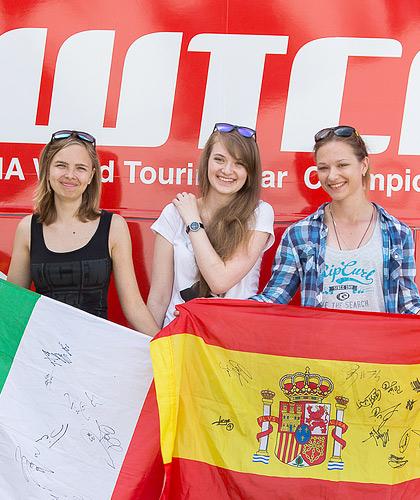 «Мотор» пообщался со зрителями российской гонки WTCC. Фото 39