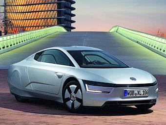 Volkswagen превратит сверхэкономичный гибрид XL1 в спорткар