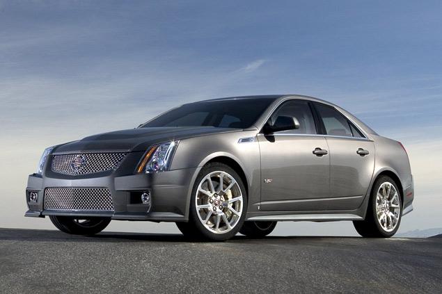 Чем может удивить самый мощный американский седан Cadillac CTS-V?