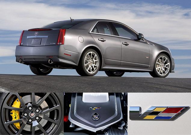 Чем может удивить самый мощный американский седан Cadillac CTS-V?. Фото 1
