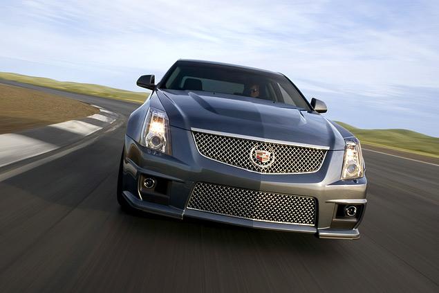 Чем может удивить самый мощный американский седан Cadillac CTS-V?. Фото 4