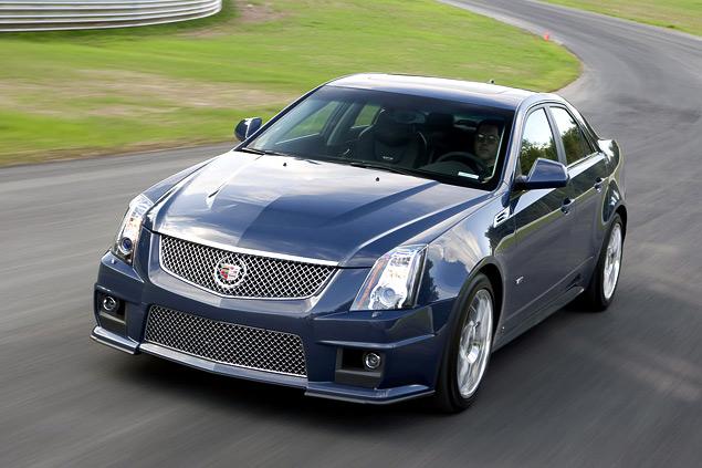 Чем может удивить самый мощный американский седан Cadillac CTS-V?. Фото 6