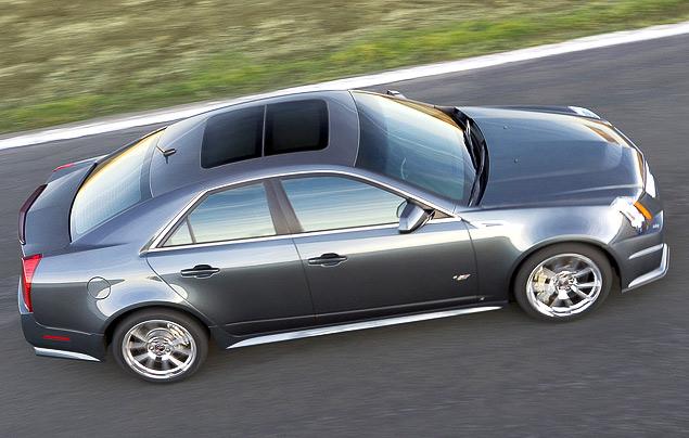 Чем может удивить самый мощный американский седан Cadillac CTS-V?. Фото 7