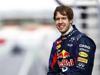 Феттель останется в Red Bull до конца 2015 года