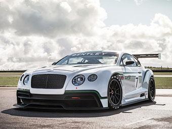 """Bentley оснастит гоночный Continental твин-турбо """"восьмеркой"""""""