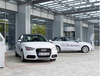 Компания Audi собрала 80 обновленных электрических хэтчбеков A1