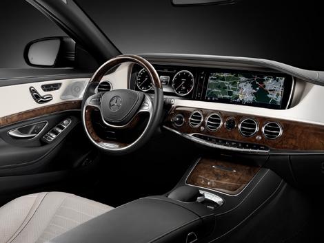 Седан будет доступен в версиях S 400 Hybrid и S 500. Фото 1