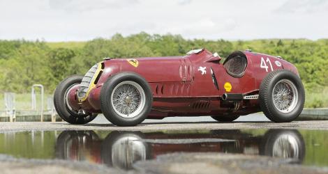 Гоночную Alfa Romeo 8C-35 Monoposto продали за 9 миллионов долларов. Фото 1