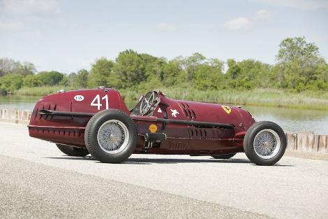 Гоночную Alfa Romeo 8C-35 Monoposto продали за 9 миллионов долларов. Фото 2
