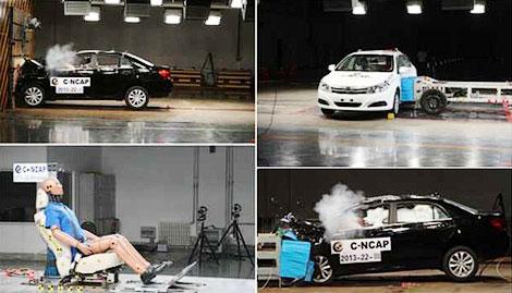 Седан BYD F5 Suri получил пять звезд по методике организации C-NCAP