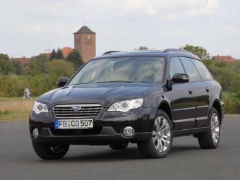 Subaru отзовет в России 10 тысяч автомобилей