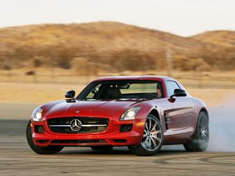 Mercedes-Benz SLS AMG снимут с конвейера через год