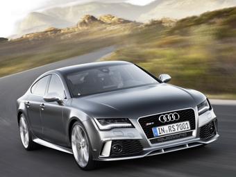 Audi RS7 оказался в России в полтора раза дешевле BMW M6
