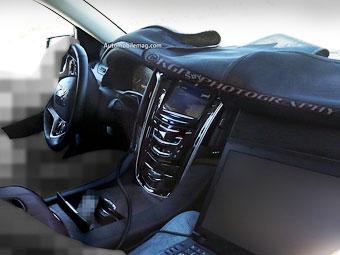 Фотошпионы рассекретили интерьер нового Cadillac Escalade