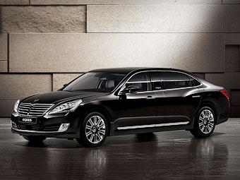 Компания Hyundai привезла в Россию лимузин