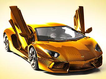 Lamborghini из цельного куска золота продадут за 7,5 миллиона долларов