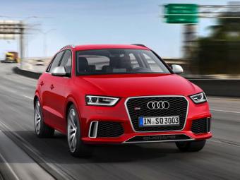 """Audi назвала рублевую цену """"заряженного"""" кроссовера Q3"""