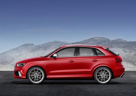 """Audi RS Q3 с 310-сильным мотором набирает """"сотню"""" за 5,5 секунды"""