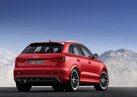 "Audi RS Q3 с 310-сильным мотором набирает ""сотню"" за 5,5 секунды. Фото 1"
