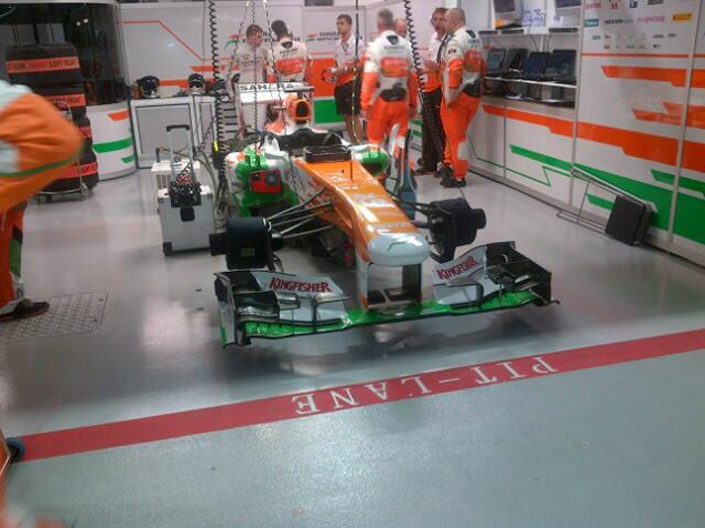 Онлайн-трансляция тринадцатого этапа Формулы-1 2013 года. Фото 1