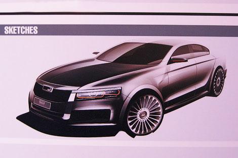 Компания Qoros задумалась о создании автомобилей B, D и E сегмента