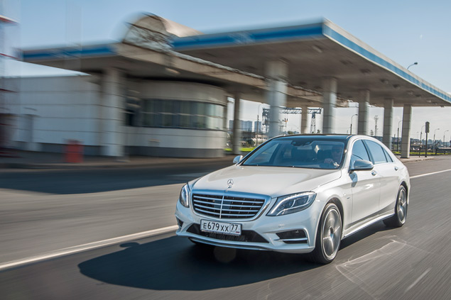 Достоин ли новый Mercedes S 500 короны лучшего автомобиля в мире. Фото 4