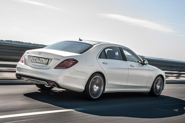 Достоин ли новый Mercedes S 500 короны лучшего автомобиля в мире. Фото 6