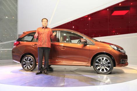 Модель Honda Mobilio создана специально для азиатских рынков