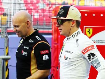 Райкконен выйдет на старт Гран-при Сингапура несмотря на боль в спине