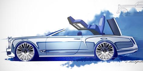 Британцы посчитали выпуск открытой версии седана Mulsanne невыгодным