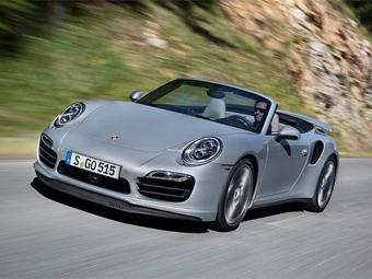 Porsche 911 Turbo и Turbo S лишились крыши