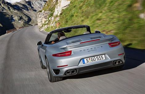 Новые кабриолеты 911 получили моторы от одноименных купе