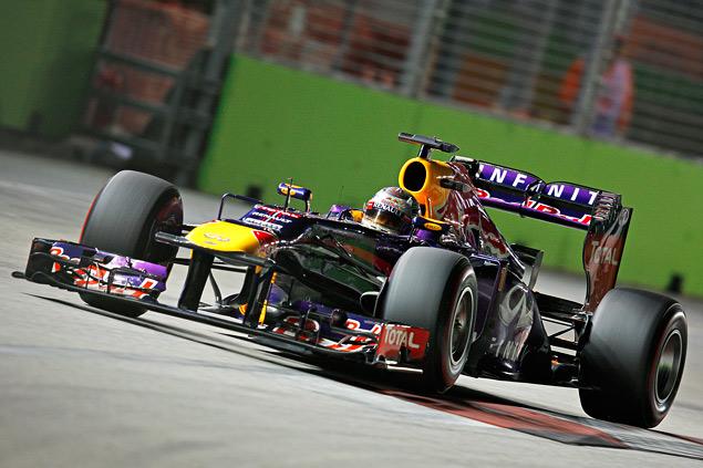 Себастьян Феттель не оставил шансов соперникам на Гран-при Сингапура