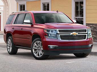 У Chevrolet Tahoe и Suburban появятся версии для бездорожья