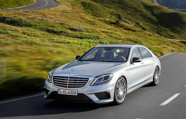 Заслуживает ли S 63 AMG звания лучшего спортивного седана Mercedes-Benz. Фото 2