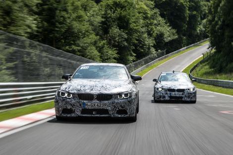 """BMW распространила подробности о новых """"заряженных"""" моделях"""