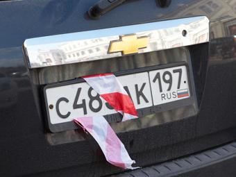 Водители в России стали в два раза чаще скрывать номера своих машин