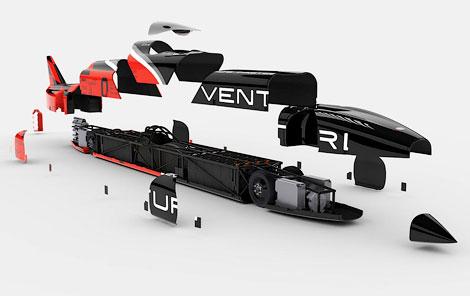 Электрокар Venturi VBB-3 попытается установить мировой рекорд скорости