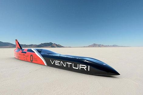 Электрокар Venturi VBB-3 попытается установить мировой рекорд скорости. Фото 2