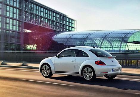 VW Beetle будет предлагаться с двумя моторами и в трех комплектациях