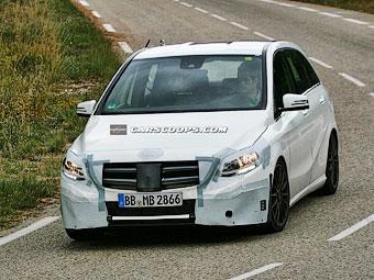 Mercedes-Benz начал тесты обновленного B-Class