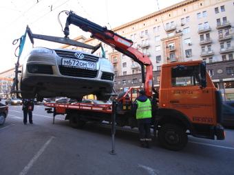 Госдуме предложили отменить эвакуацию не мешающих машин