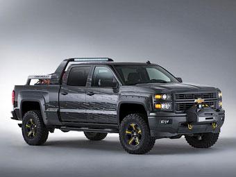 """Компания Chevrolet превратила пикап Silverado в """"средство спасения"""""""