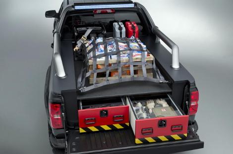 Американцы представили концептуальные варианты пикапа Silverado Double Cab. Фото 3
